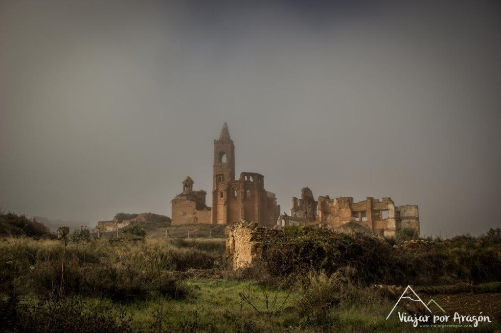 Viajar por Aragón – pueblo viejo de Belchite
