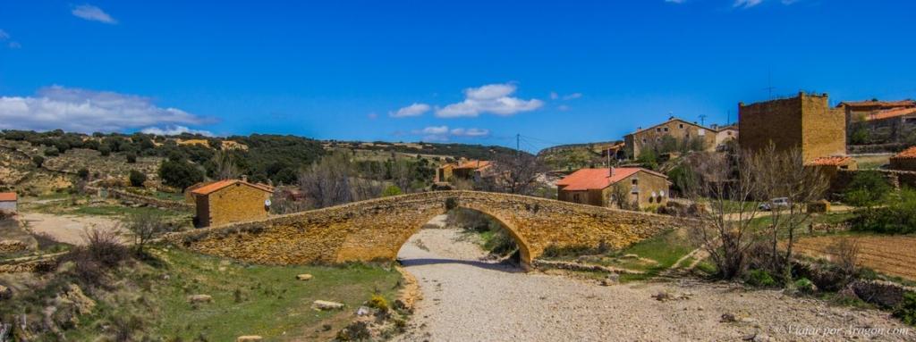 Viajar por Aragón – Puente de la Pobleta de San Miguel