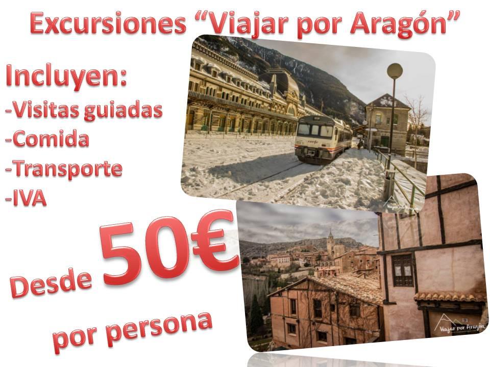 """Excursiones """"Viajar por Aragón"""""""