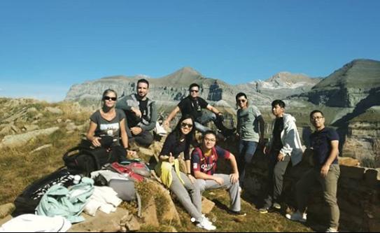 Aragón visto desde China