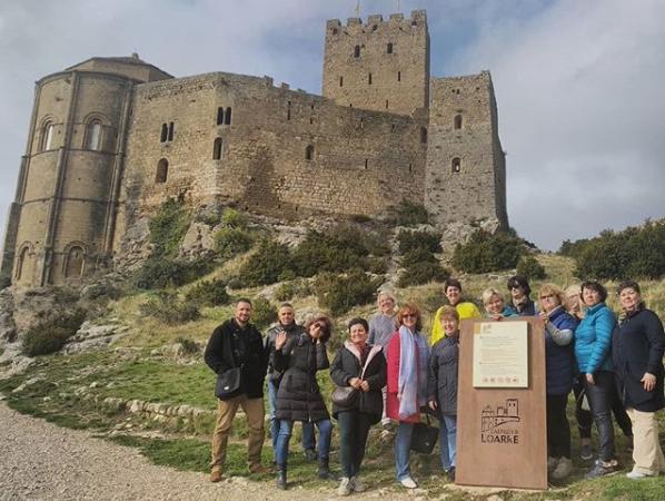 Grupo procedente de Rusia con agencia de viajes receptiva en Aragón
