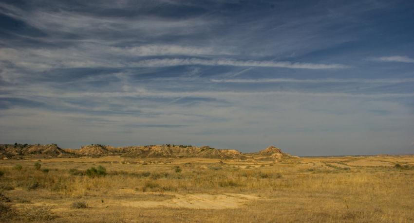 Zonas esteparias de Aragón
