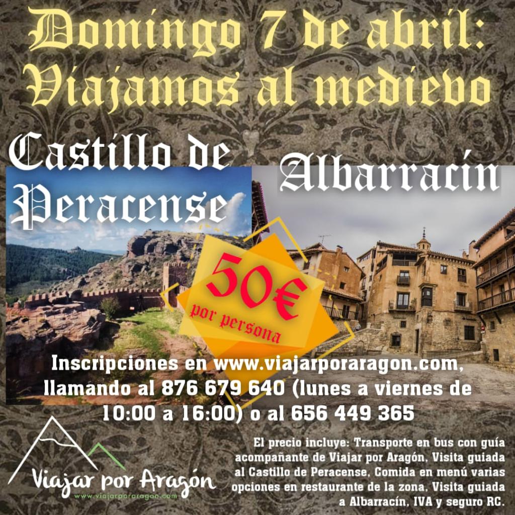 Excursión Albarracín y Peracense
