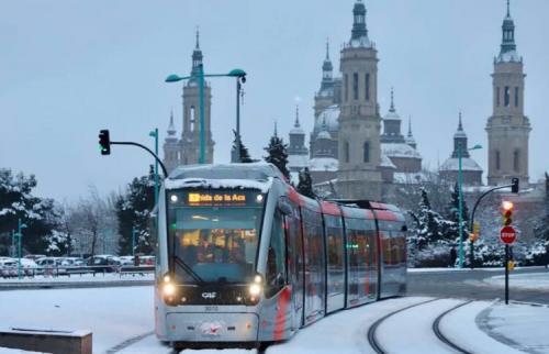 Tranvía en Zaragoza (anónima)